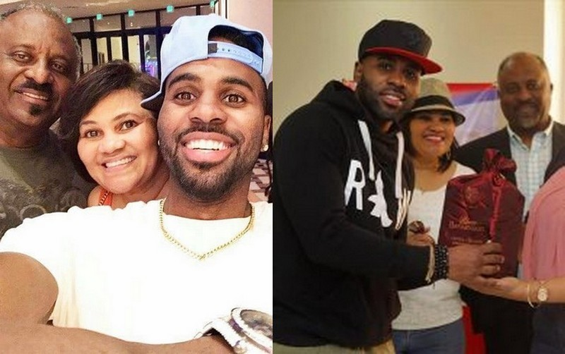 Jason Derulo's family - father Joel Desrouleaux Sr.