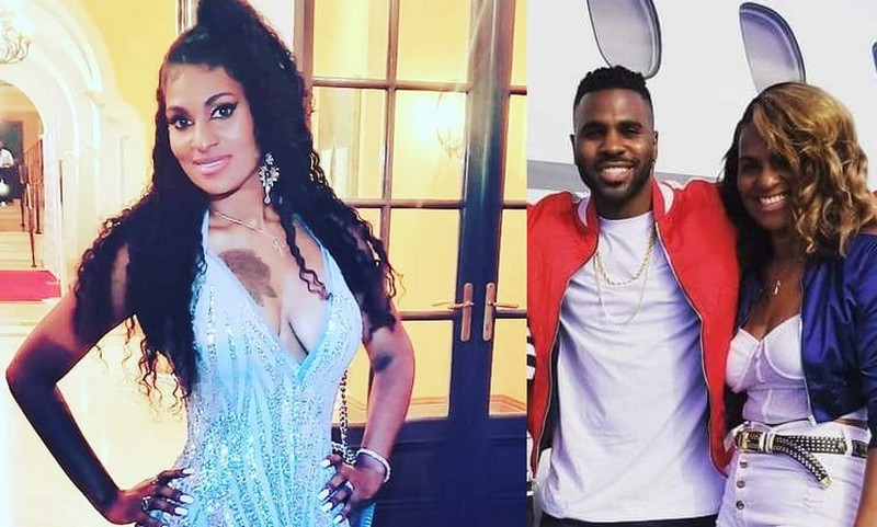Jason Derulo's siblings - sister Kim Desrouleaux