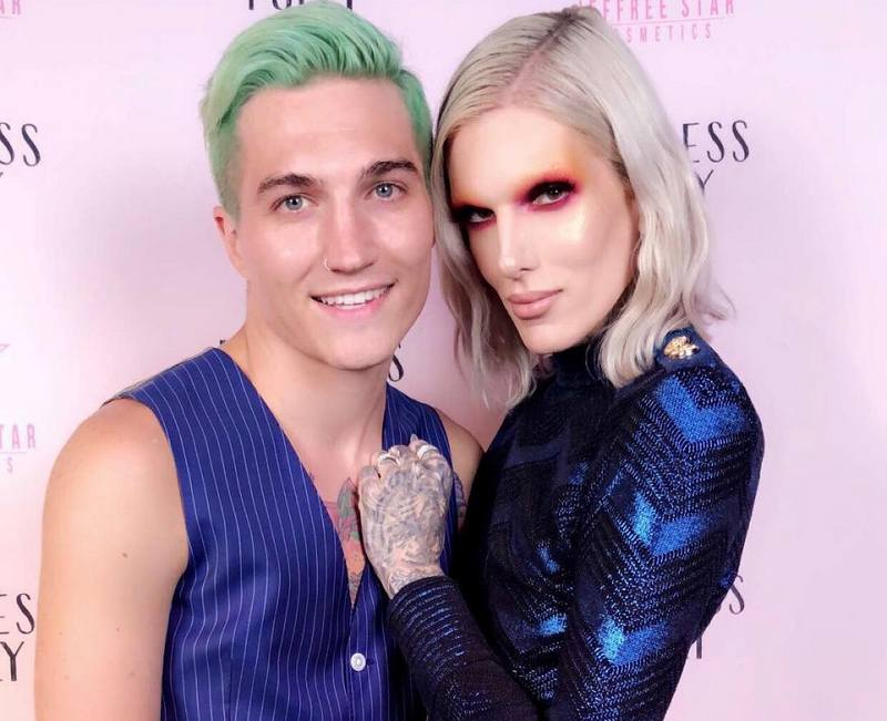 Jeffree Star's family - partner Nathan Schwandt