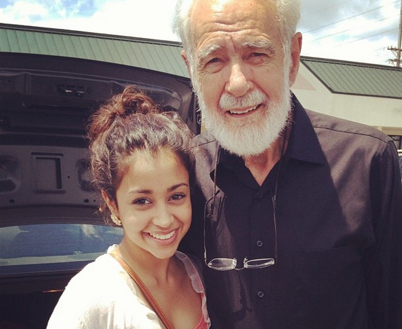 Liza Koshy family - maternal grandfather John Asa Hertzler