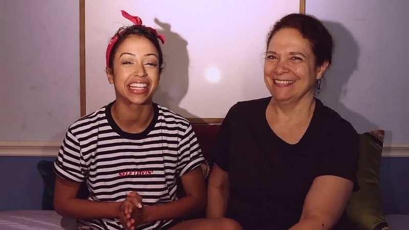 Liza Koshy family - mother Jean Carol Koshy-Hertzler