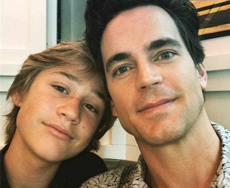 Matt Bomer's children - son Kit Halls