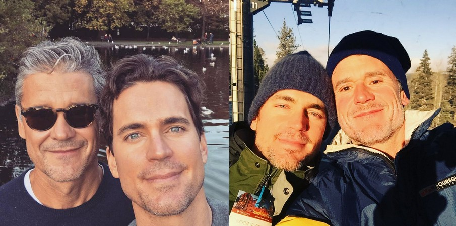 Matt Bomer's family - spouse Simon Halls