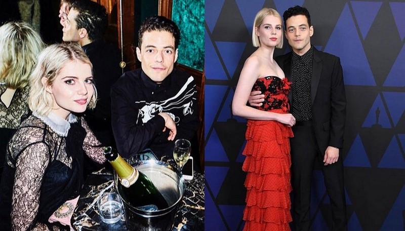 Rami Malek's girlfriend Lucy Boynton