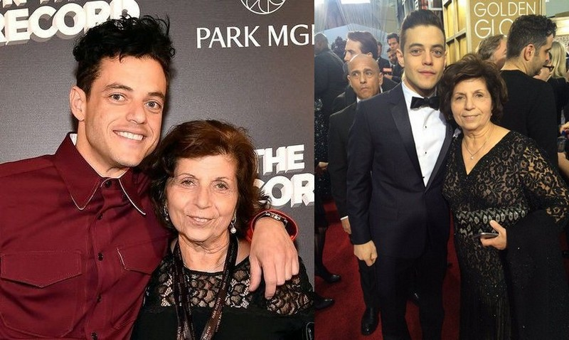 Rami Malek's family - mother Nelly Abdel-Malek