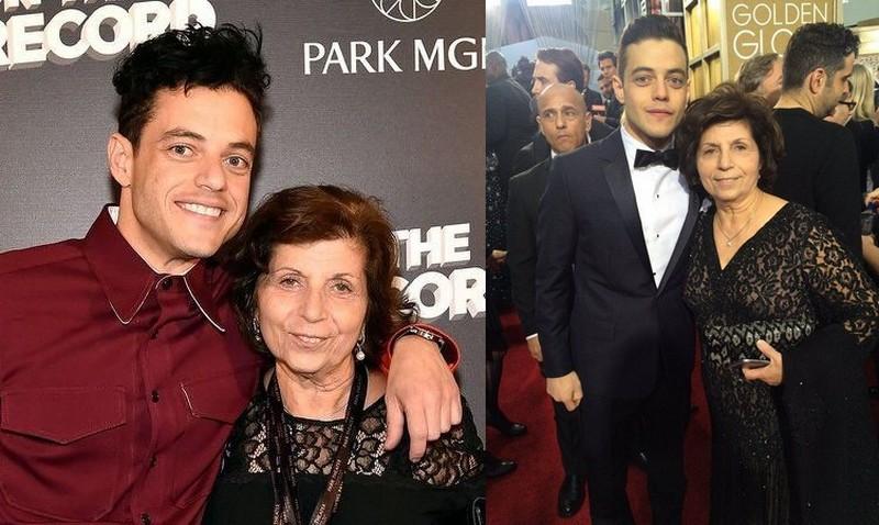 Rami Malek's family - mother Nelly Abdel-Malek