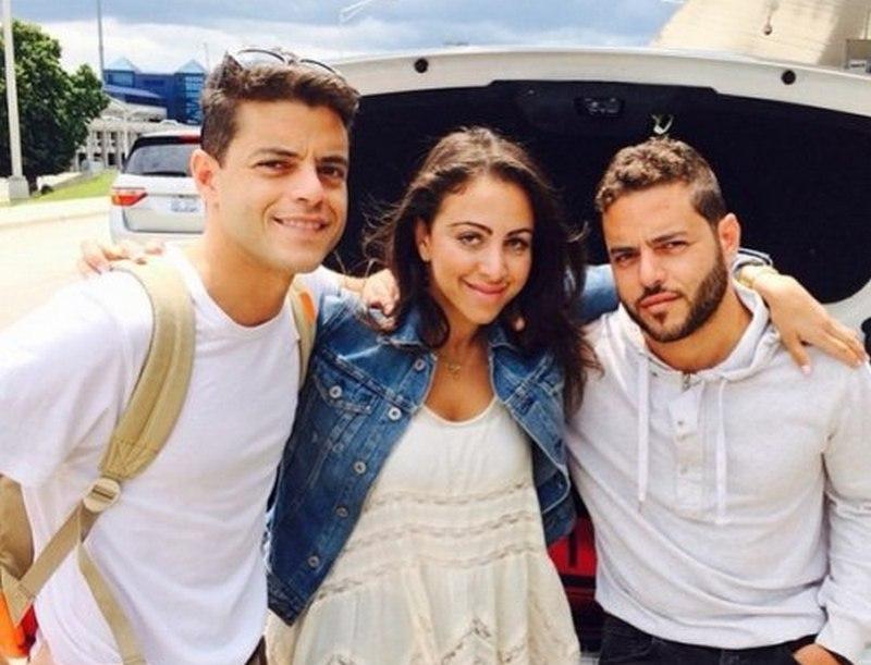 Rami Malek's siblings