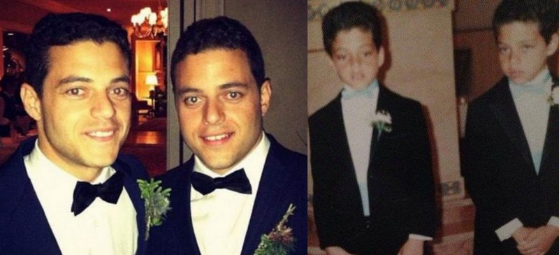Rami Malek's siblings - twin brother Sami Malek