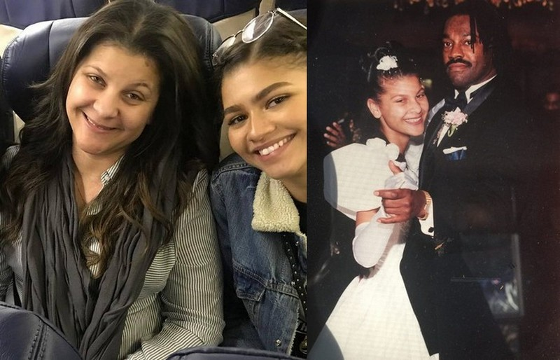 "Zendaya's siblings - half-sister Katianna ""Kizzy"" Coleman"