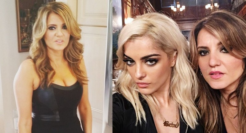 Bebe Rexha's family - mother Bukurije Rexha