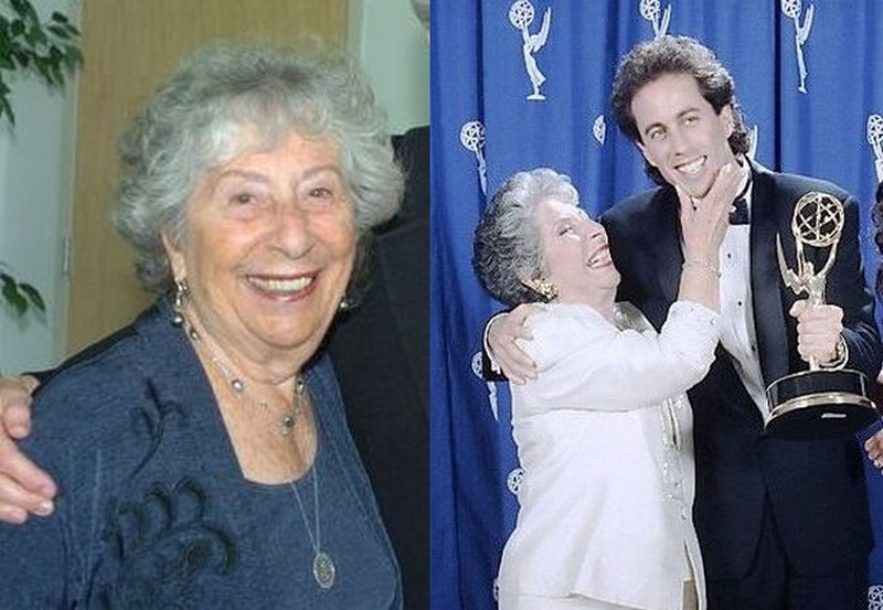 Jerry Seinfeld's family - mother Betty Seinfeld