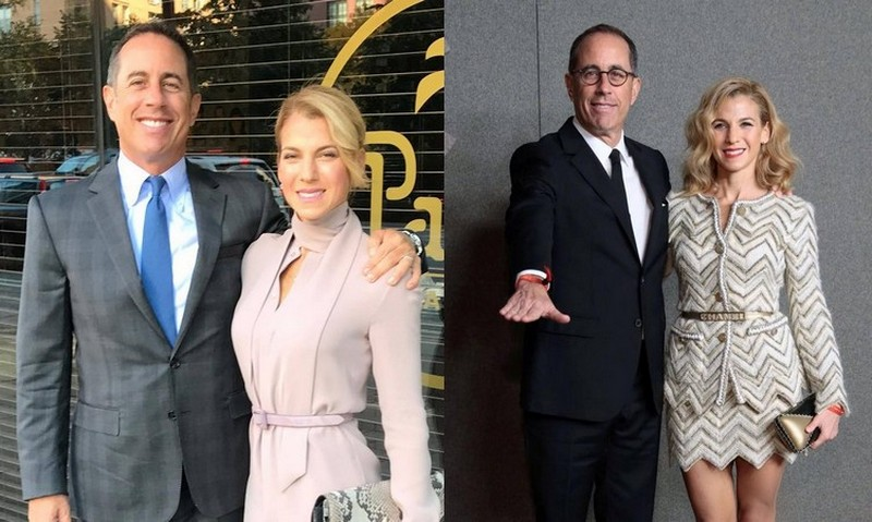 Jerry Seinfeld's family - wife Jessica Seinfeld