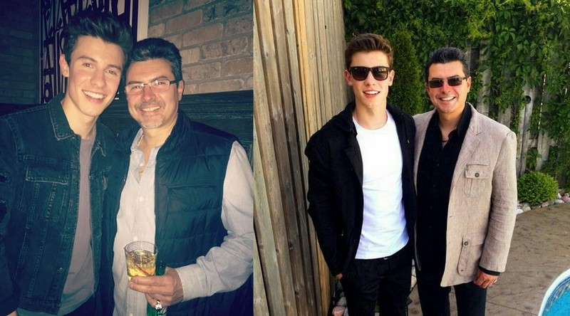 Shawn Mendes' family - father Manuel Mendes