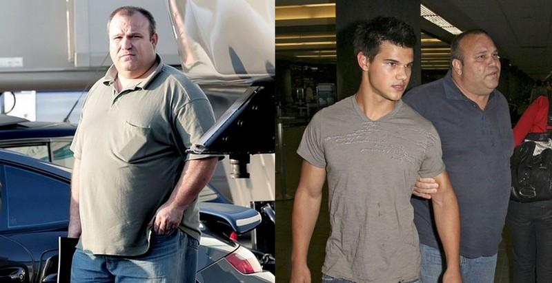 Taylor Lautner's family - father Daniel Lautner