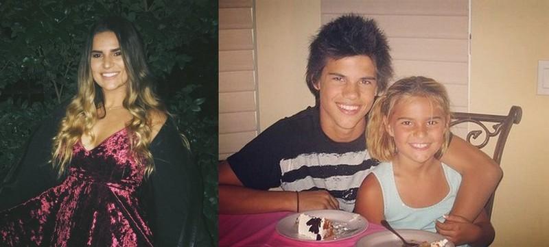 Taylor Lautner's siblings - sister Makena Lautner