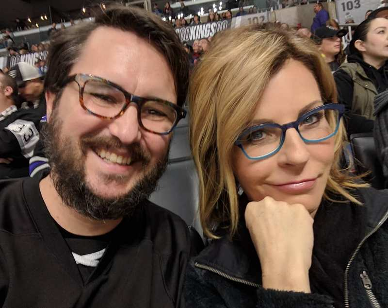 Wil Wheaton with wife Anne Wheaton
