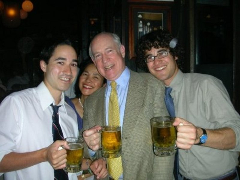 Darren Criss' family - father Charles William Criss