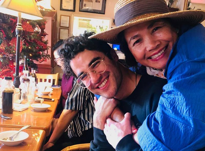 Darren Criss' family - mother Cerina Bru