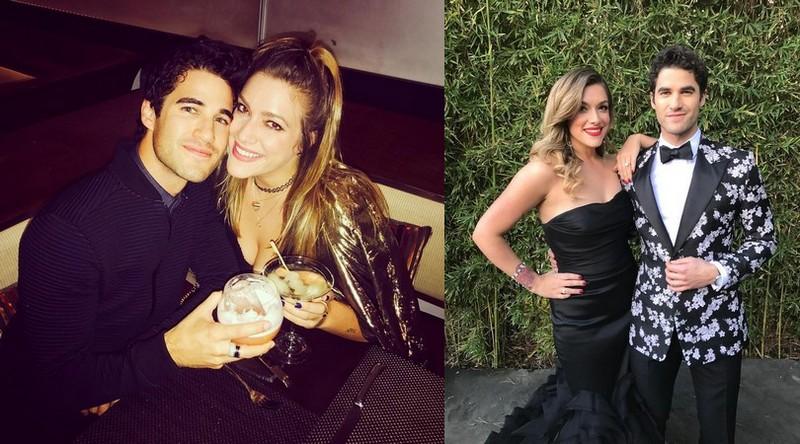 Darren Criss' family - wife Mia Swier