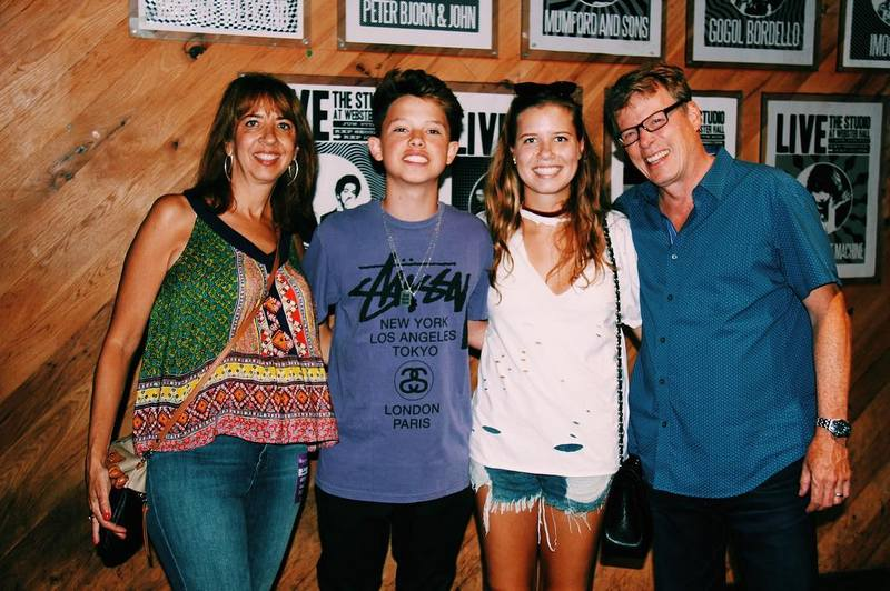 Jacob Sartorius' family