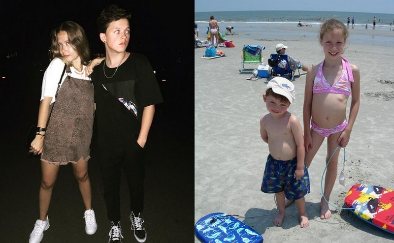 Jacob Sartorius' siblings - sister Caroline Sartorius