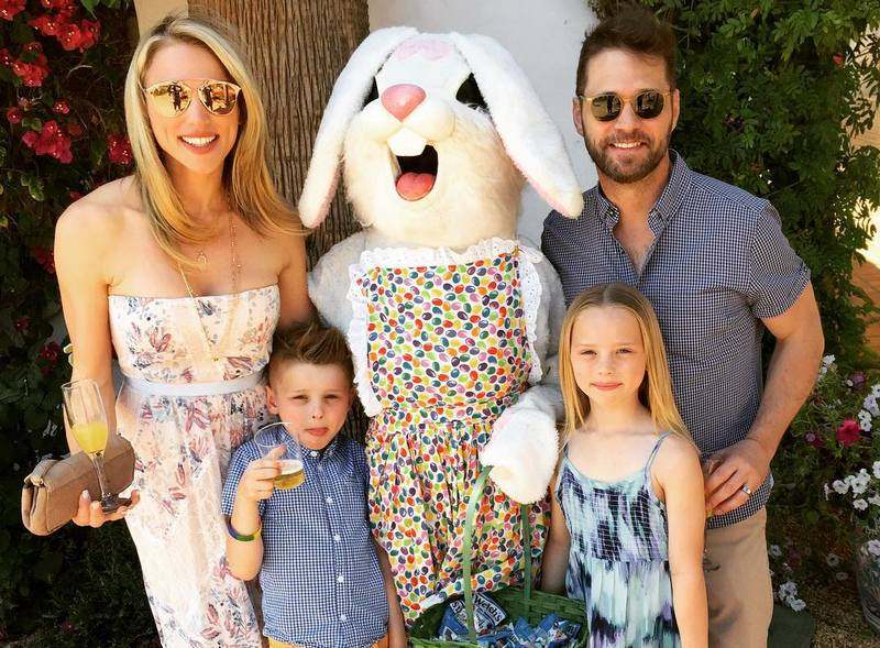 Jason Priestley's family