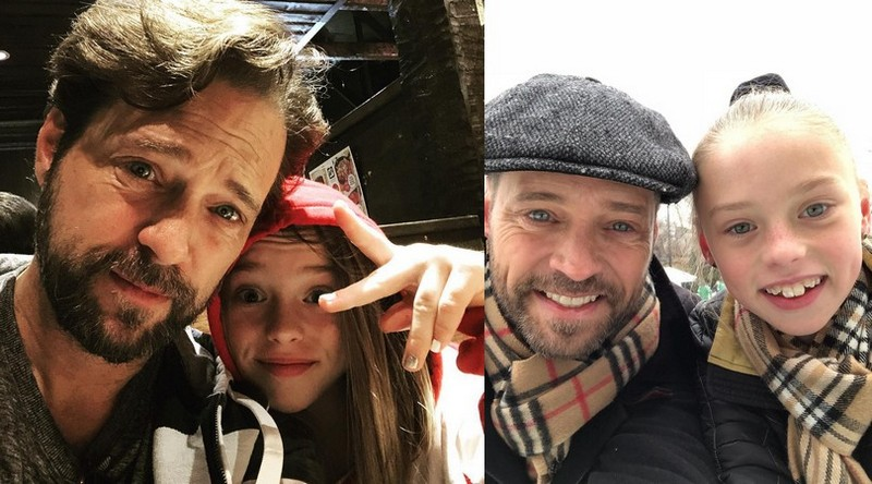 Jason Priestley's children - daughter Ava Veronica Priestley