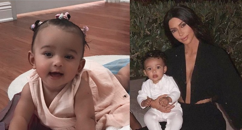Kim Kardashian's children - daughter Chicago West