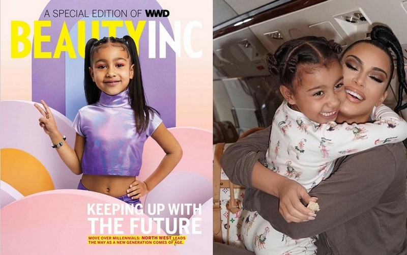 Kim Kardashian's children - daughter North West