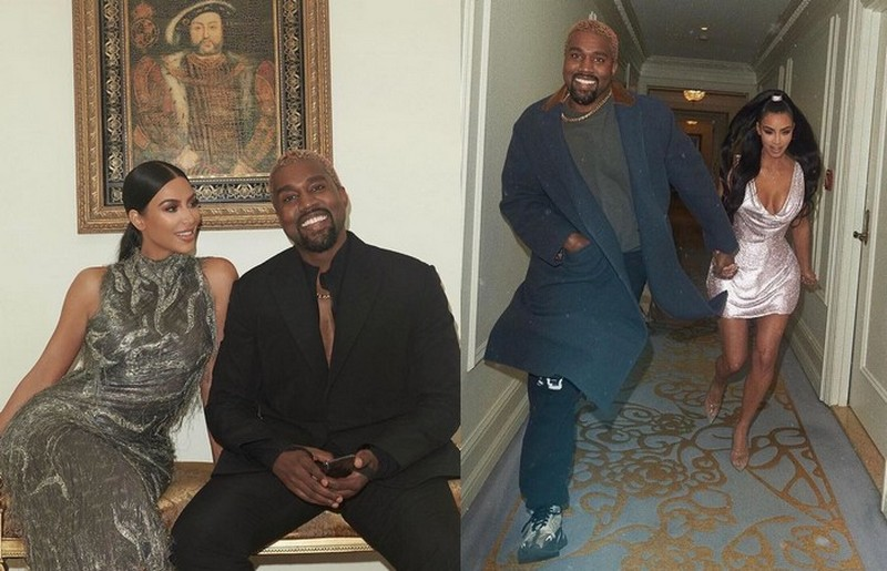 Kim Kardashian's family - husband Kanye West