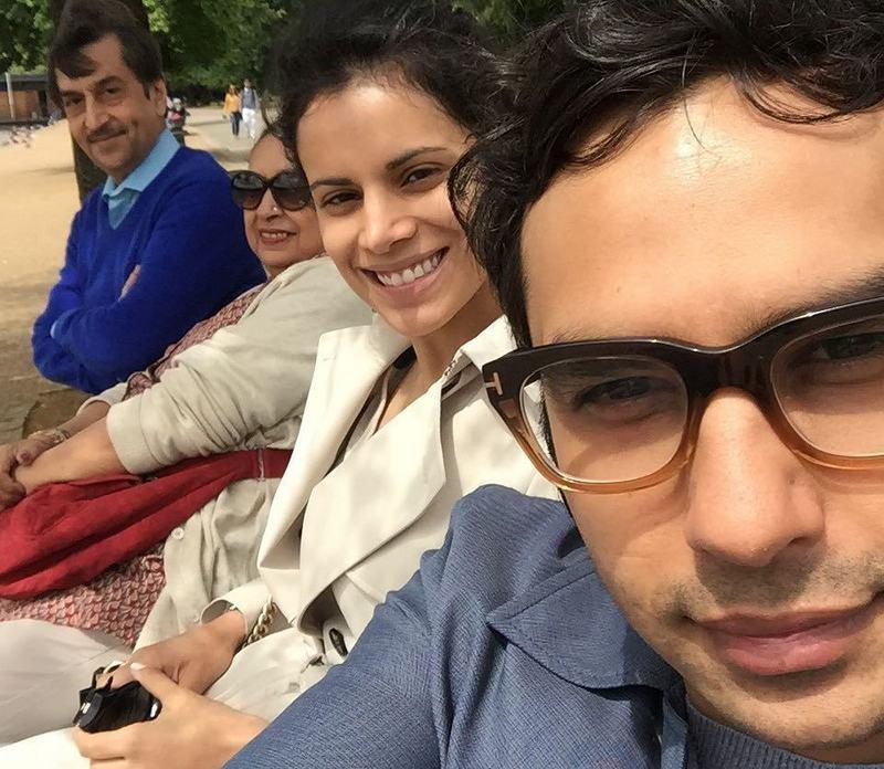 Kunal Nayyar's family
