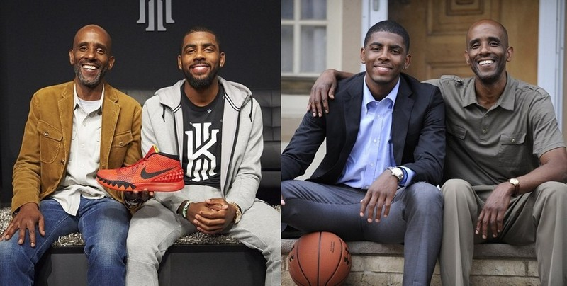 Kyrie Irving's family - father Drederick Rubin Irving