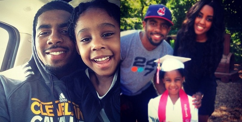 Kyrie Irving's siblings - half-sister London Irving