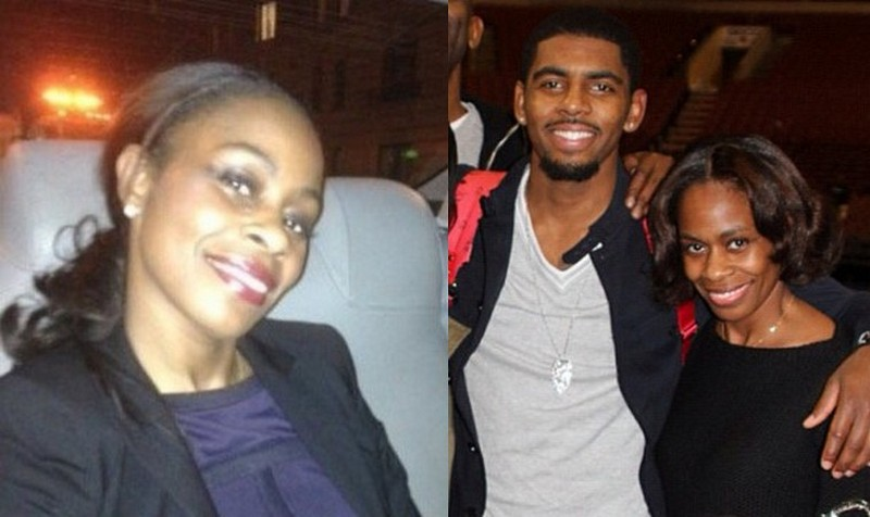 Kyrie Irving's family - step-mother Shetellia Irving