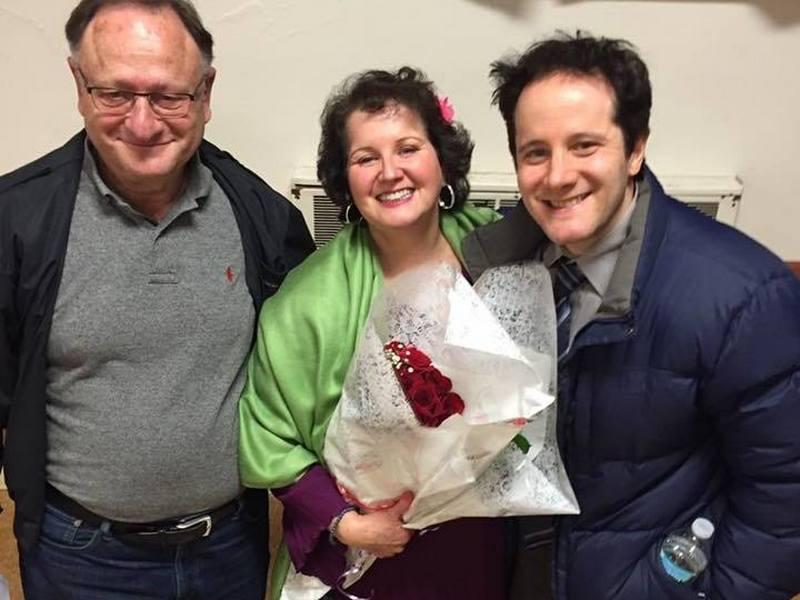 Melissa Rauch's family