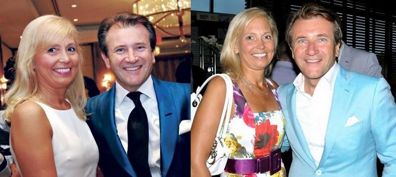 Robert Herjavec's family - ex-wife Diane Plese