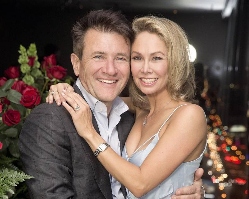 Robert Herjavec's family - wife Kym Johnson