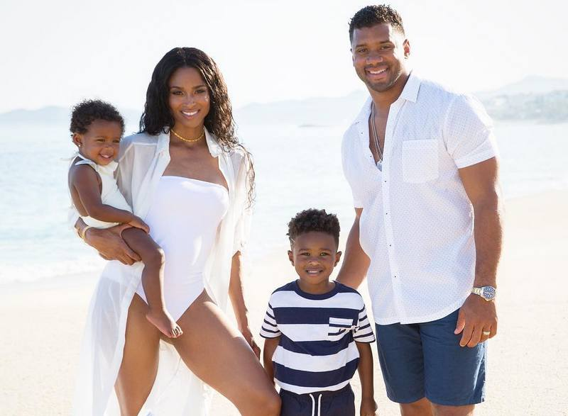 Russell Wilson's family