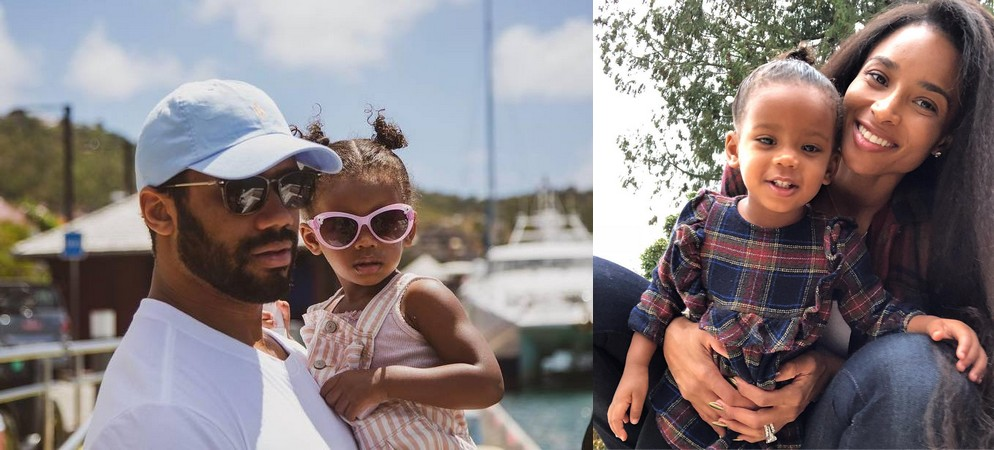 Russell Wilson's children - daughter Sienna Princess Wilson