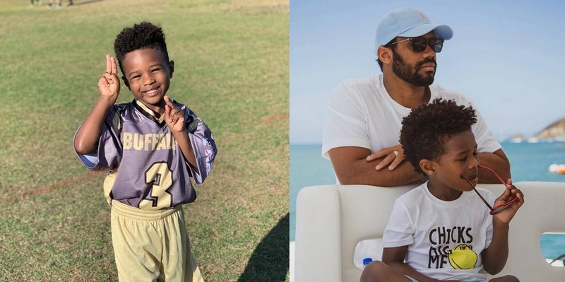 Russell Wilson's children - step-son Future Zahir Wilburn
