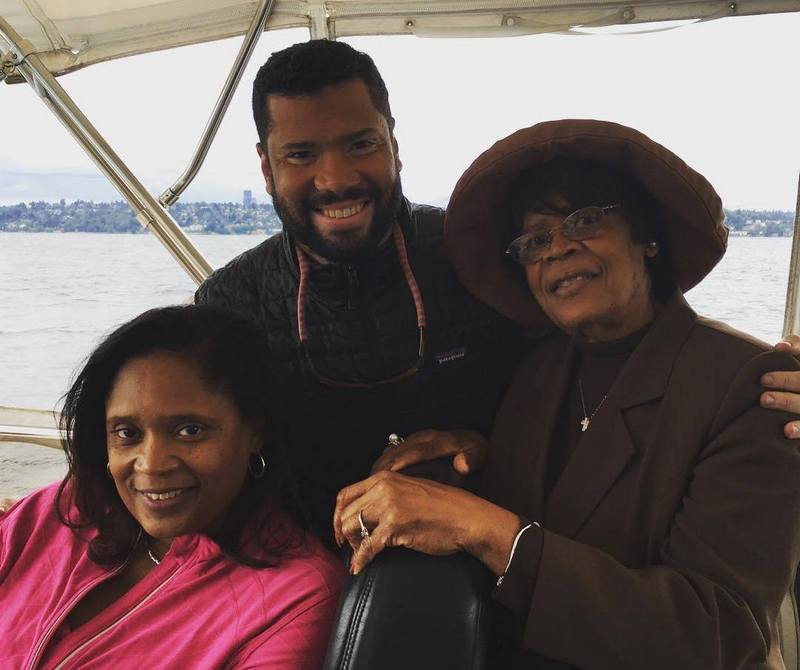 Russell Wilson's family - maternal grandmother