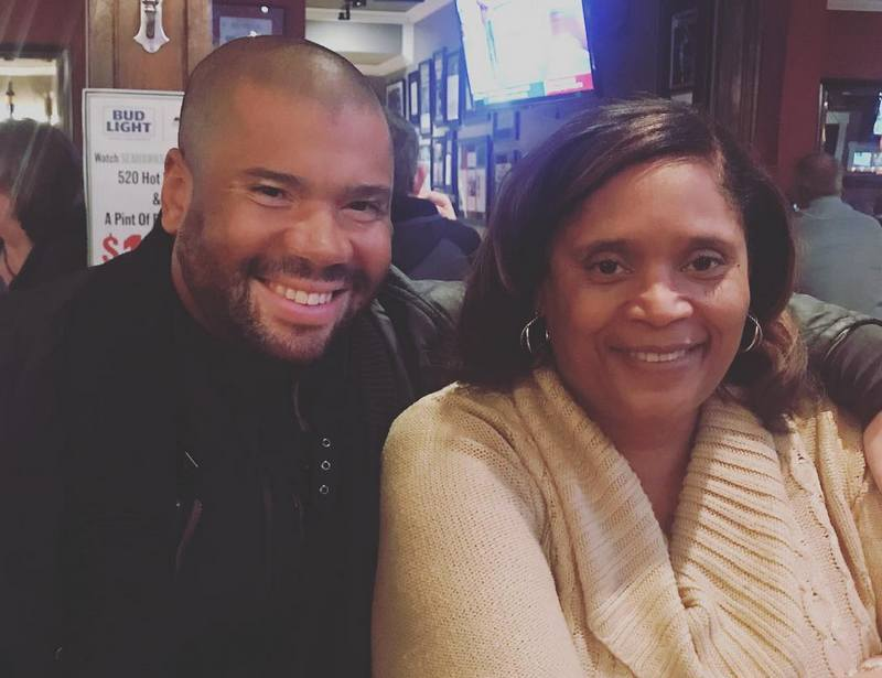 Russell Wilson's family - mother Tammy T. Wilson