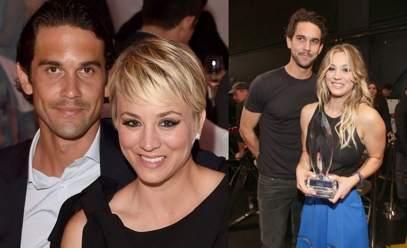 Kaley Cuoco with ex-husband Ryan Sweeting