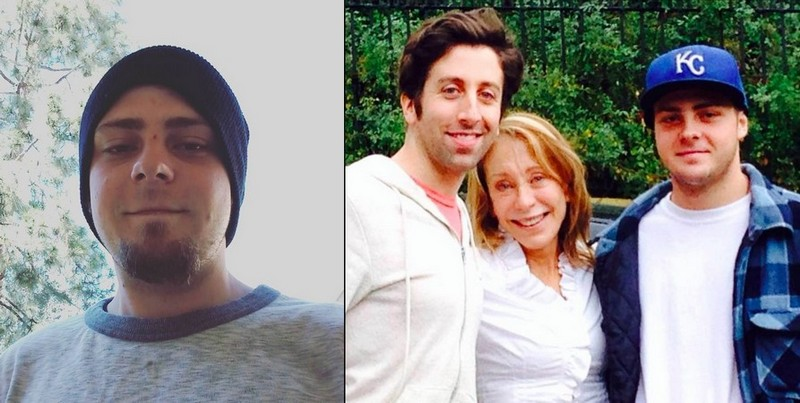 Simon Helberg's siblings - brother Mason Helberg