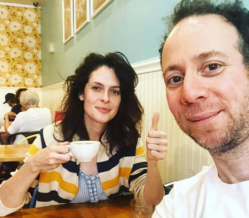 Kevin Sussman with girlfriend Whitney Rice
