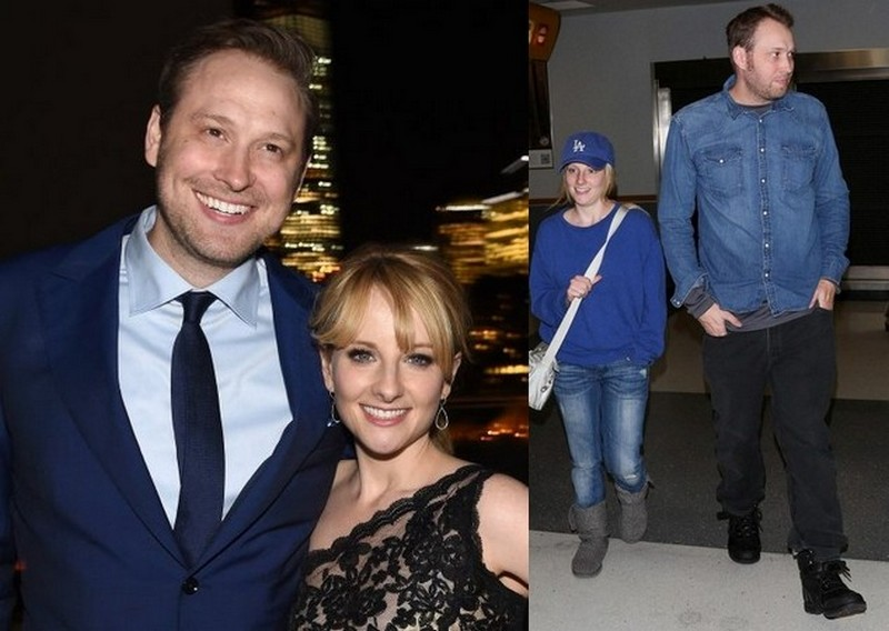 Melissa Rauch with husband Winston Rauch