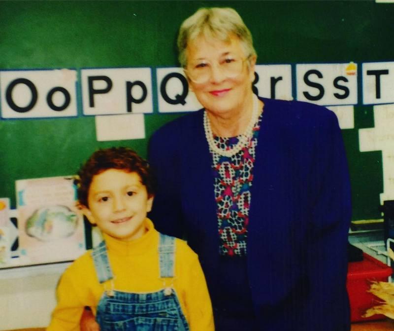 Daryl Sabara's family - maternal grandmother Elaine Rita Krebs