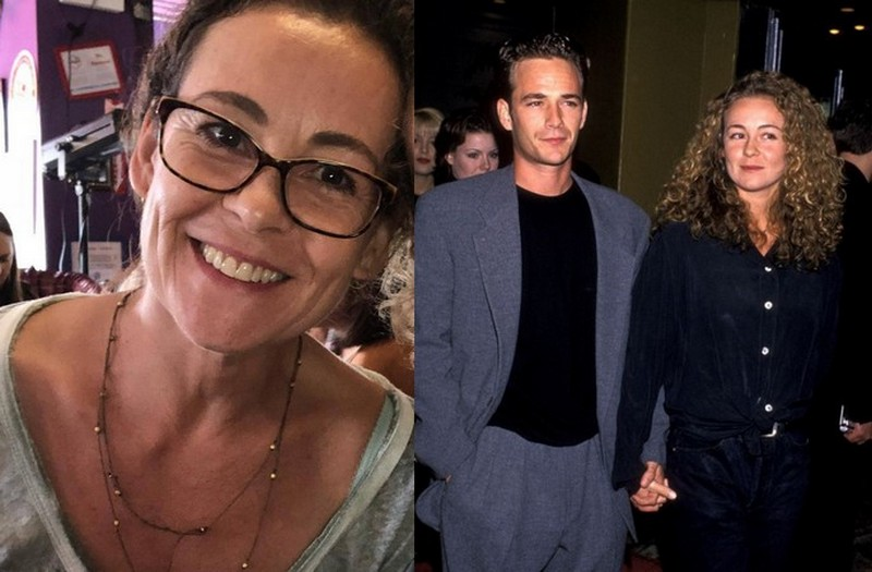 "Luke Perry's family - ex-wife Rachel ""Minnie"" Sharp"