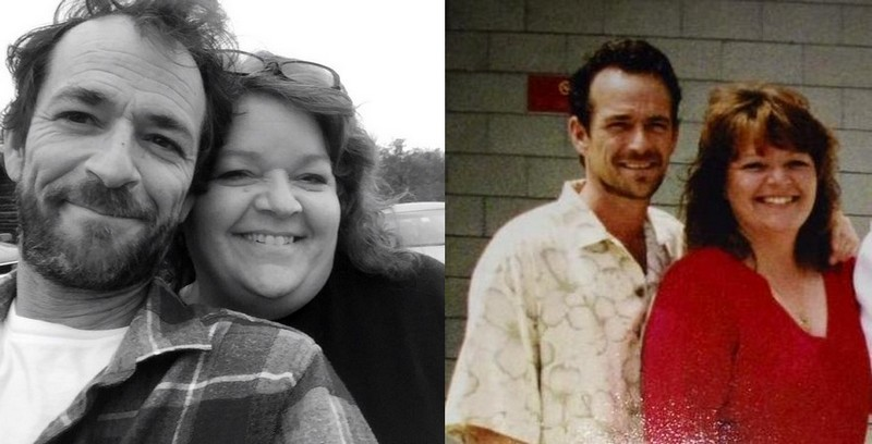 Luke Perry's siblings - sister Amy Coder (nee Perry)