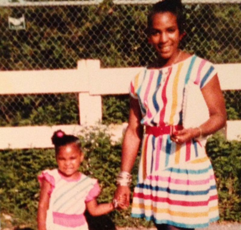Ashanti's family - mother Tina Douglas